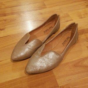Anthropologie Gee' WaWa Leather Flats